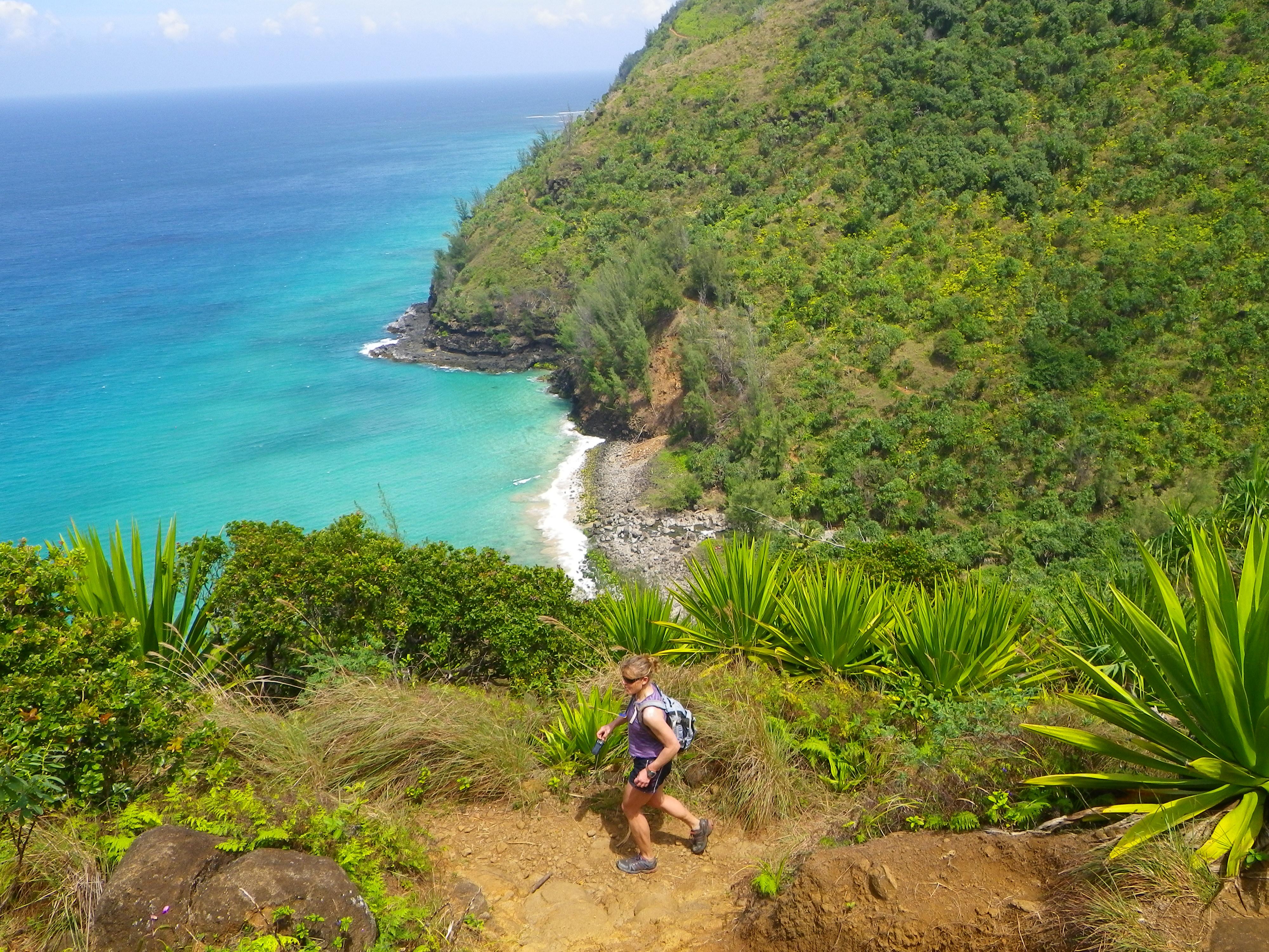 reports from kauai- hiking the na pali coast (kalalau trail
