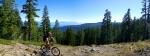 H climbing to Scott Peak