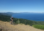 Rarely seen views of Tahoe from the East side of Ellis Peak