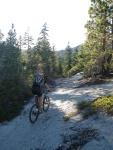 Descending Lost Lake Trail