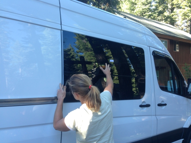Installing Cr Laurence Windows In A Sprinter Cargo Van