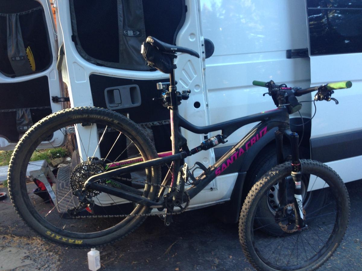 Campervan Bike Work Stand Radvanadventures Com