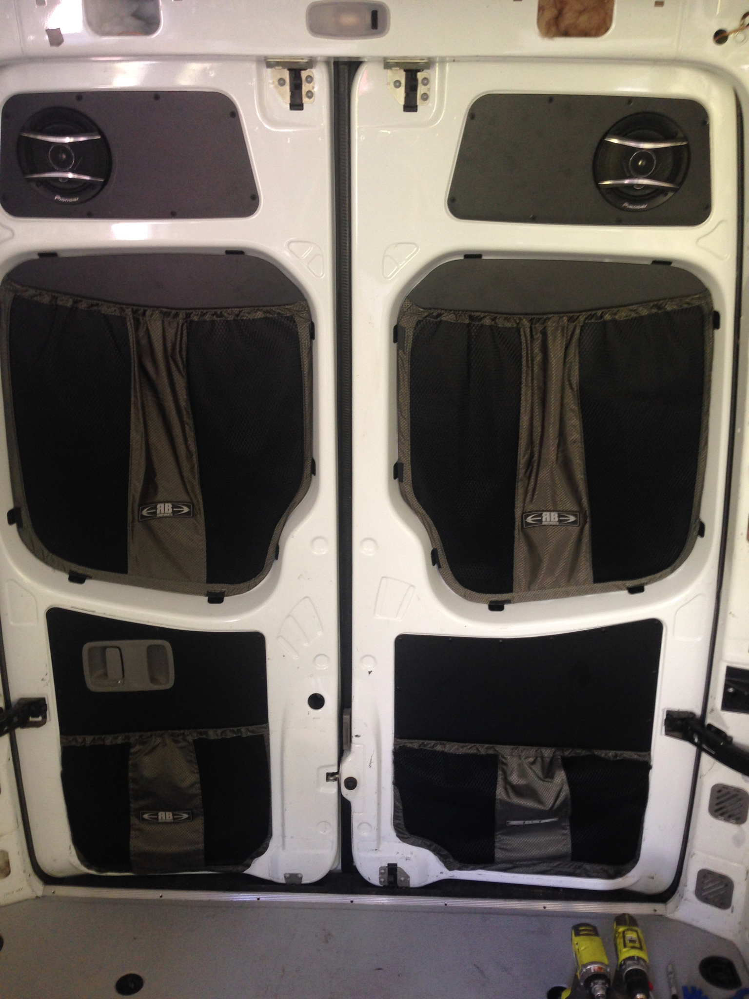 Upgrading Audio To A Sprinter Conversion Van Questions On